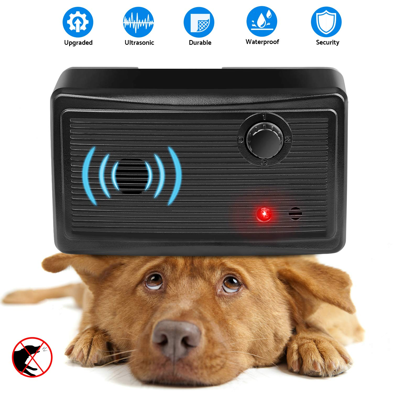 Mini Bark Control Device Outdoor, Anti Barking Deterrent Ultrasonic Dog Bark Control, Sonic Bark Deterrents Silencer Stop Barking Bark Stop Repeller by Moforoco