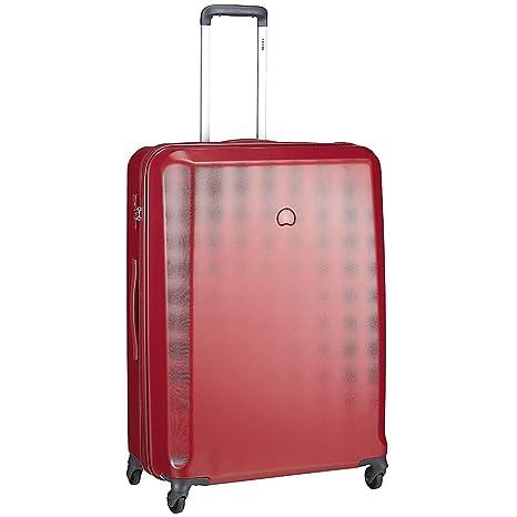Delsey Pilatus Maleta con 4 ruedas rojo 76 cm: Amazon.es ...