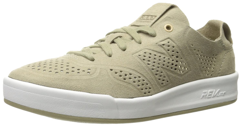 New Balance Women's 300 Lifestyle Fashion Sneaker B01LYNK3GA 8 B(M) US|Trench/White