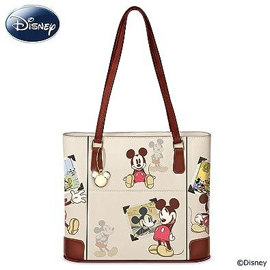 Disney Retro Mickey Mouse Women s Handbag With Gold-Toned Charm by The  Bradford Exchange  Handbags  Amazon.com 8ab230a805b99