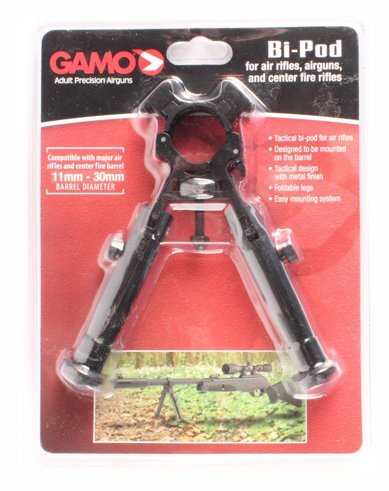Gamo 621319054 Mayor Air Rifle Bi-Pod w/Foldable Legs by Gamo