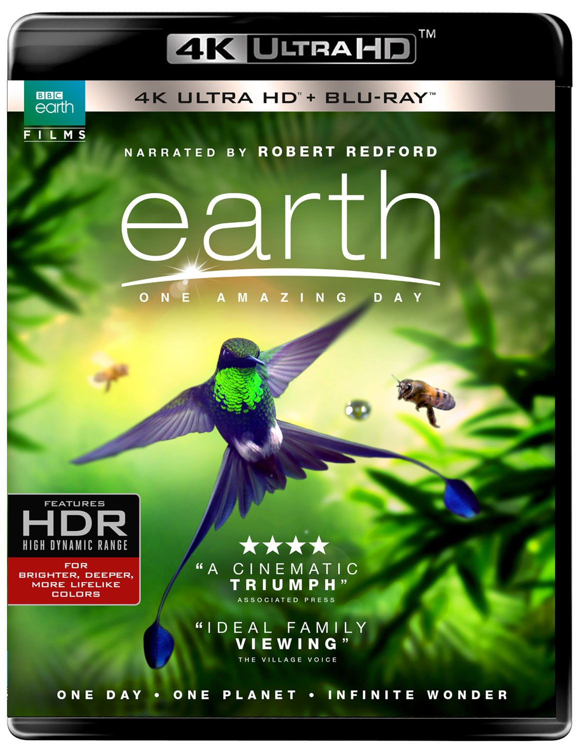 Earth: One Amazing Day (BD/4kUHD Combo) [Blu-ray]