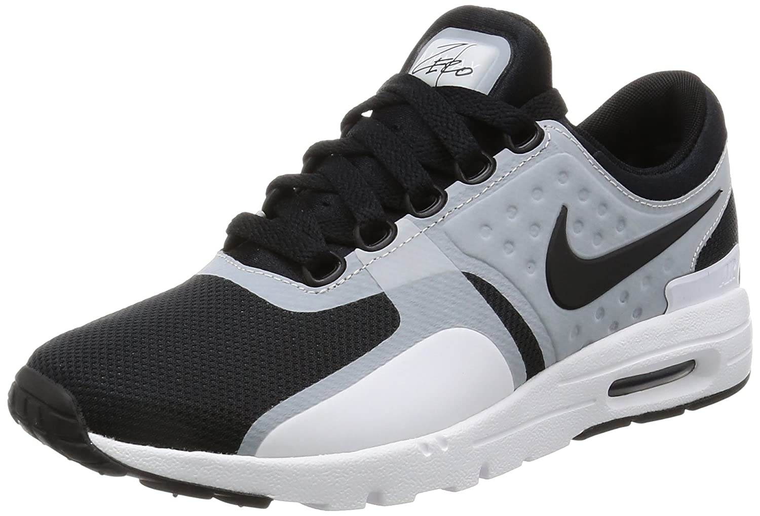 NIKE Women's Air Max Zero Running Shoe B01M63RZRE 6 B(M) US|White/Black