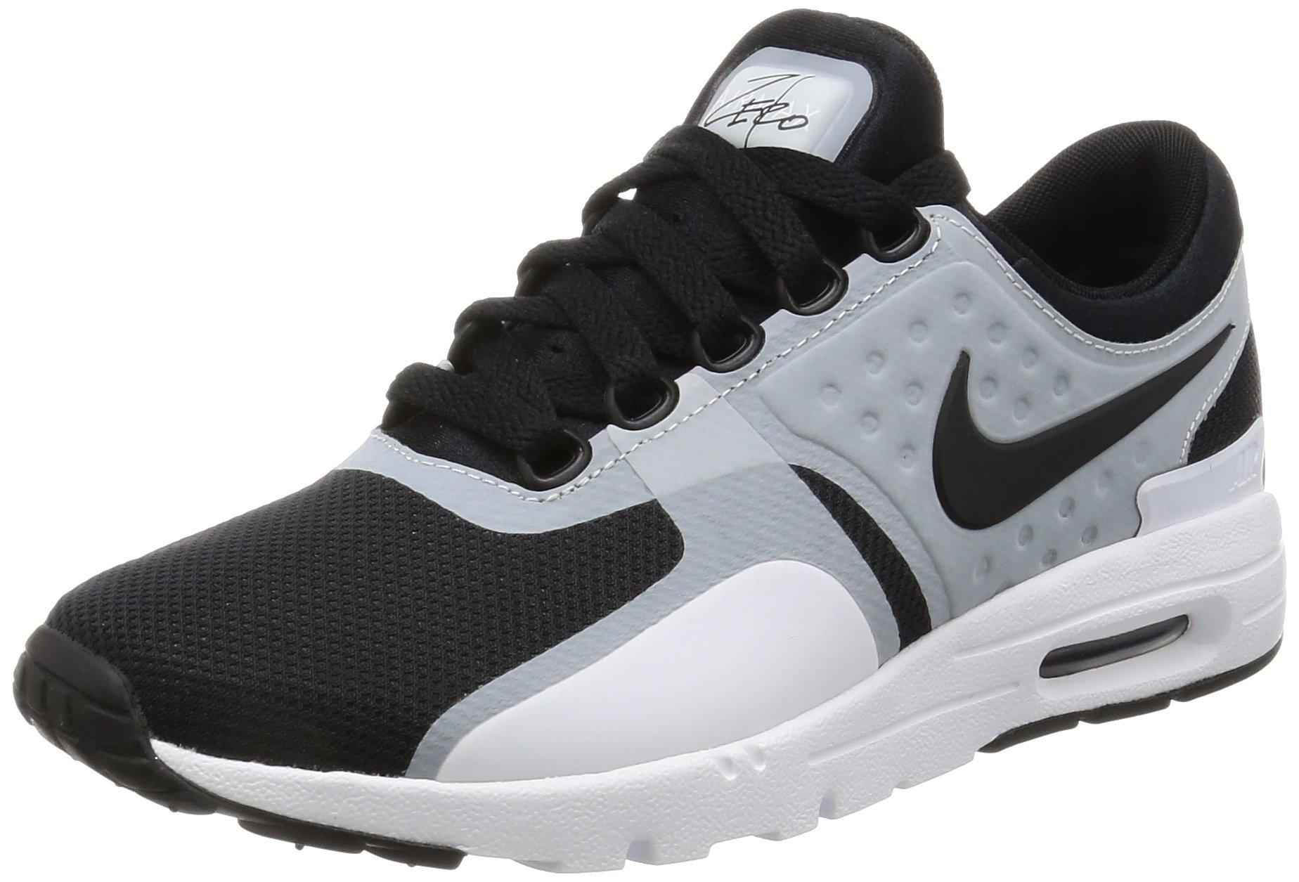 NIKE Women's Air Max Zero White/Black Running Shoe 6.5 Women US