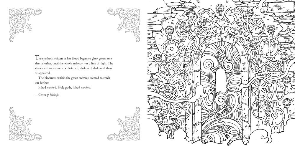 970+ Throne Of Glass Coloring Book Pdf Download Free