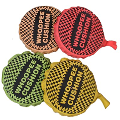 Alician Novelty Whoopee Cushion Jokes Maker Prank Toys Trick Fart Pad Random Color: Toys & Games