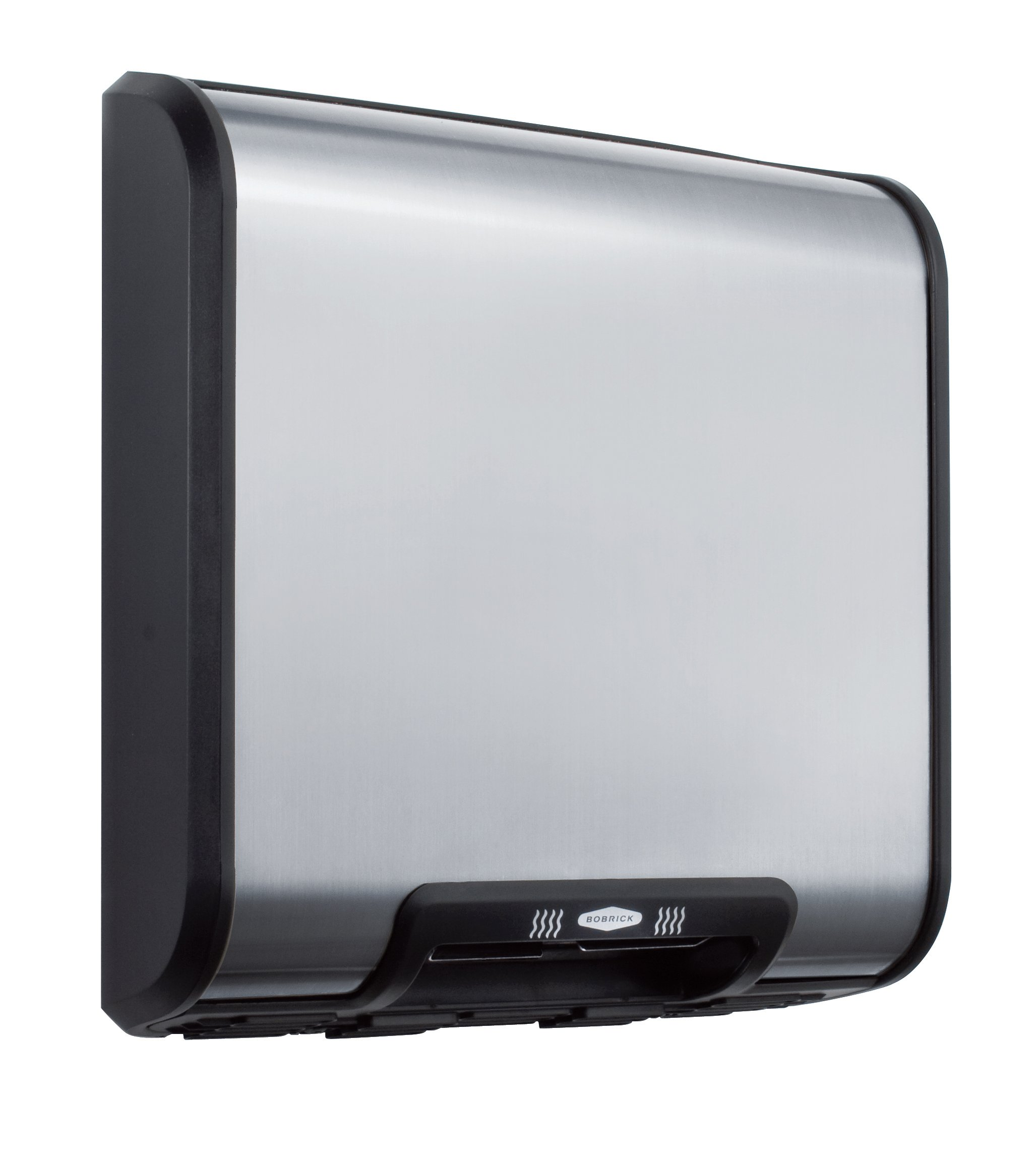 Bobrick 7128 TrimLineSeries 304 Stainless Steel ADA Surface-Mounted Automatic Hand Dryer, Satin Finish, 230V