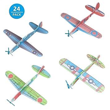 Styroporflugzeug Gleitflugzeuge Flieger Mitgebsel Kindergeburtstag Tombola