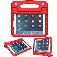 Funda para iPad Mini 1, 2, 3, 4 y 5 Generación – Ligera, a prueba de golpes, convertible, con asa incorporada, soporte para tablet para niños – visualización Retina, Rojo, For iPad Mini 1 2 3 4 5 Tablet