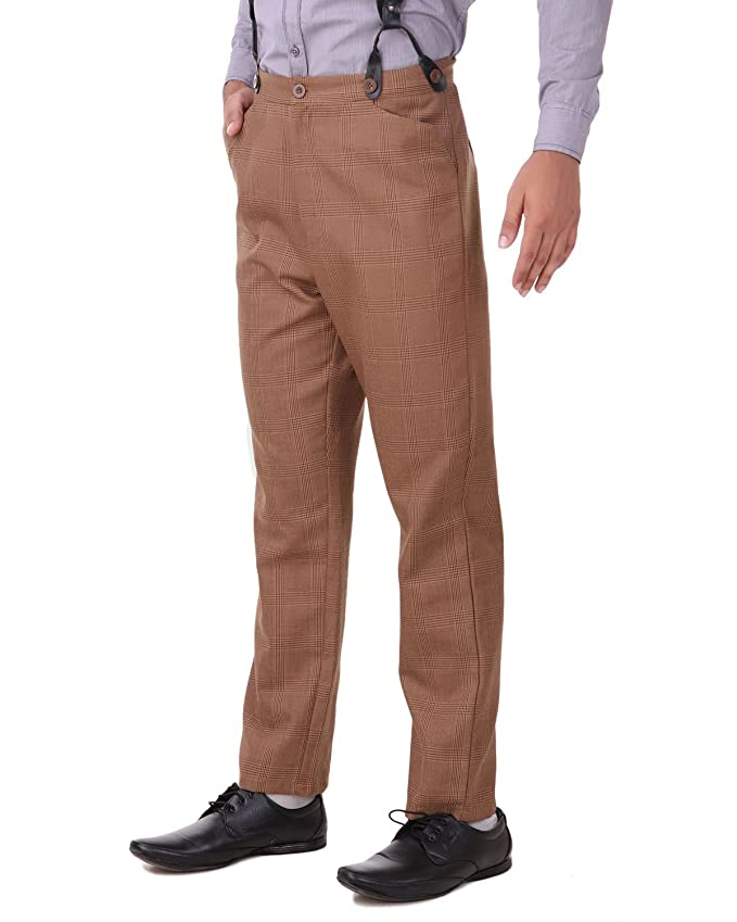 Victorian Men's Pants – Victorian Steampunk Men's Clothing ThePirateDressing Steampunk Cosplay Costume Classic Victorian Mens Pants Trousers C1331  AT vintagedancer.com