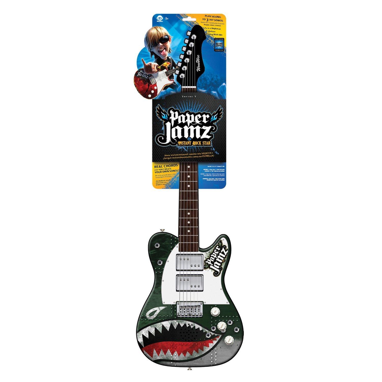 Amazon Wowwee Paper Jamz Instant Rock Star Guitars Series 1