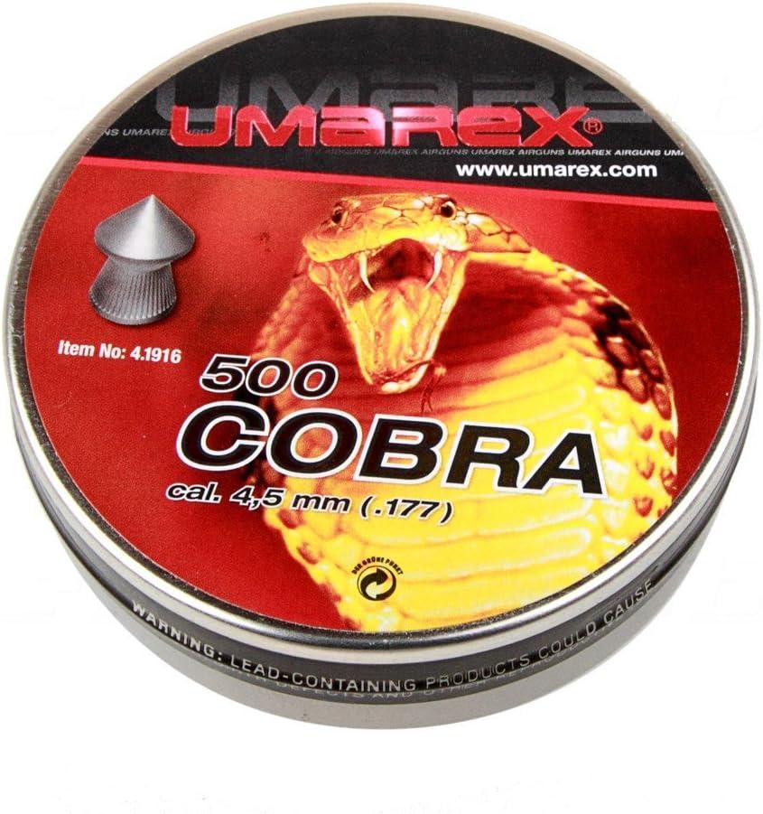 Umarex Cobra Diabolos–Cabeza de Punta–Calibre. 4,5mm–250Unidades/500Unidades
