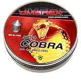 Umarex - Piombini 4,5 mm per pistole ad aria compressa Diabolo Cobra, superperforanti, set da 500