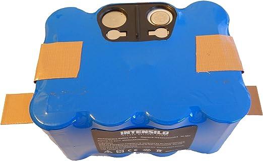 INTENSILO Batería NiMH 4500mAh (14.4V) para robot aspirador ...