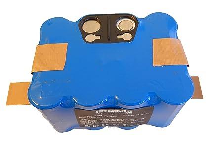 INTENSILO Batería NiMH 4500mAh (14.4V) para robot aspirador Home Cleaner Samba XR210,