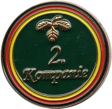 Schützenfest 2 Kompanie Mit Eichenlaub Metall Button Pin Pins Anstecker 0371 Auto