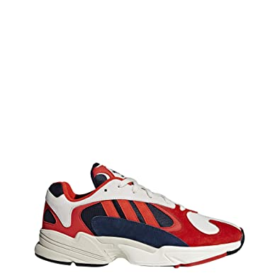 87189220bd7 Amazon.com | adidas Originals Yung 1 Orange and Blue Nubuck and Mesh ...