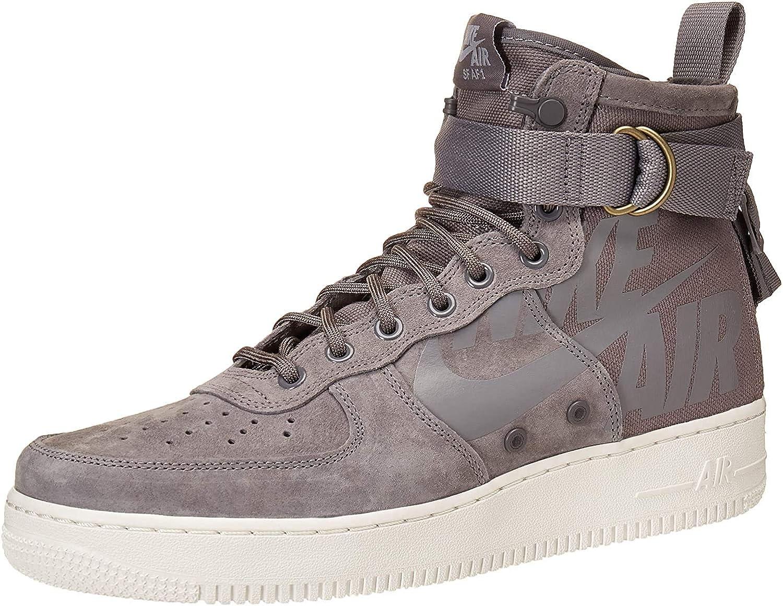 Scarpe e sneaker da uomo Nike SF Air Force 1 Mid Dune Red