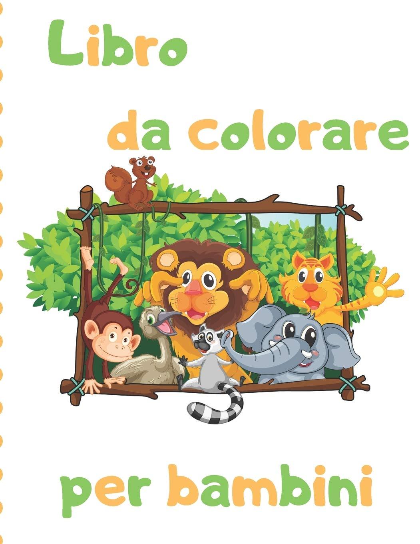 Libro Da Colorare Per Bambini Disegni Da Colorare Facili Per Mani