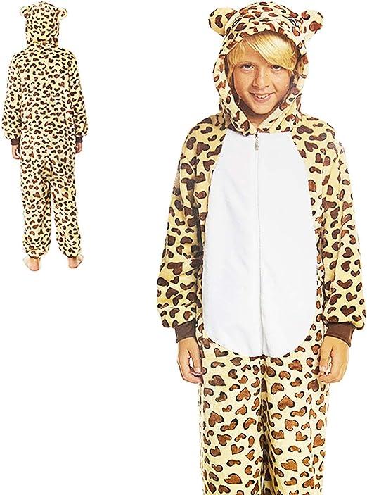 Partilandia Disfraz Infantil de Leopardo 5 a 6 años: Amazon.es: Hogar