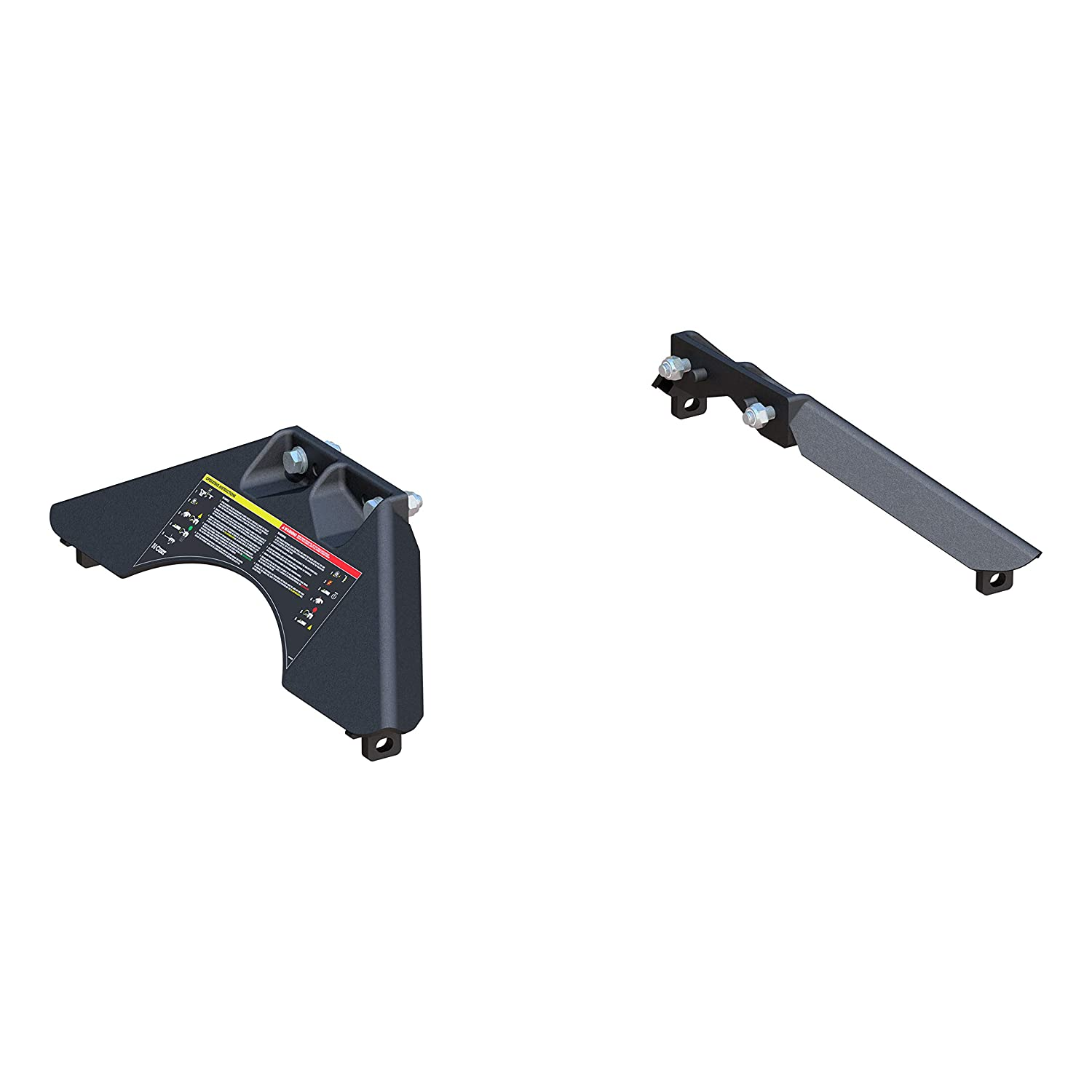 CURT 16907 Replacement Legs for CURT A25 Fifth Wheel Hitch Head #16580
