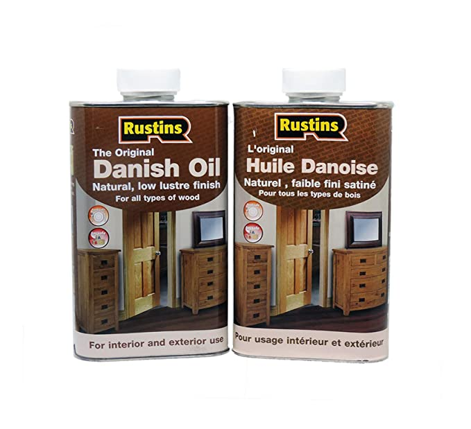 Rustins 1L Danish Oil