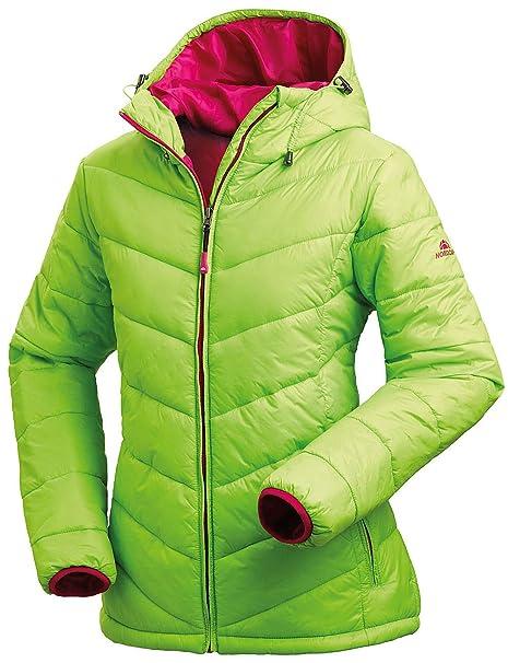 tolle sorten gut aus x billig für Rabatt Nordcap Damen Jacke in Daunenoptik, warme Steppjacke, tolle Übergangs- &  Winterjacke, 100% Wattierung (Gr: 36-50)