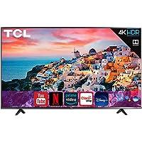 Televisión TCL SmartTV Led Roku 4K con HDR Compatible con Alexa y Google Assistant Netflix Youtube Prime Video…