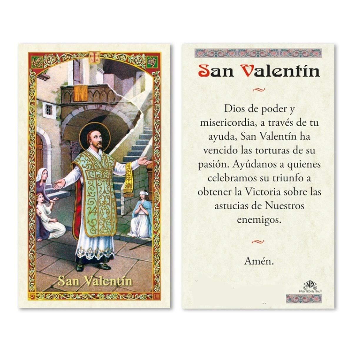 Amazon.com : San Valentin de Roma Patron de el Amor y ...