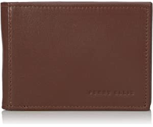 Perry Ellis Mens Perry Ellis Portfolio Front Pocket RFID Blocking Wallet