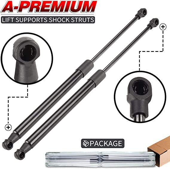 A-Premium Tailgate Lift Supports Shock Struts Spring Prop Compatible with Dodge Challenger 2008-2018 Without Spoiler 2-PC