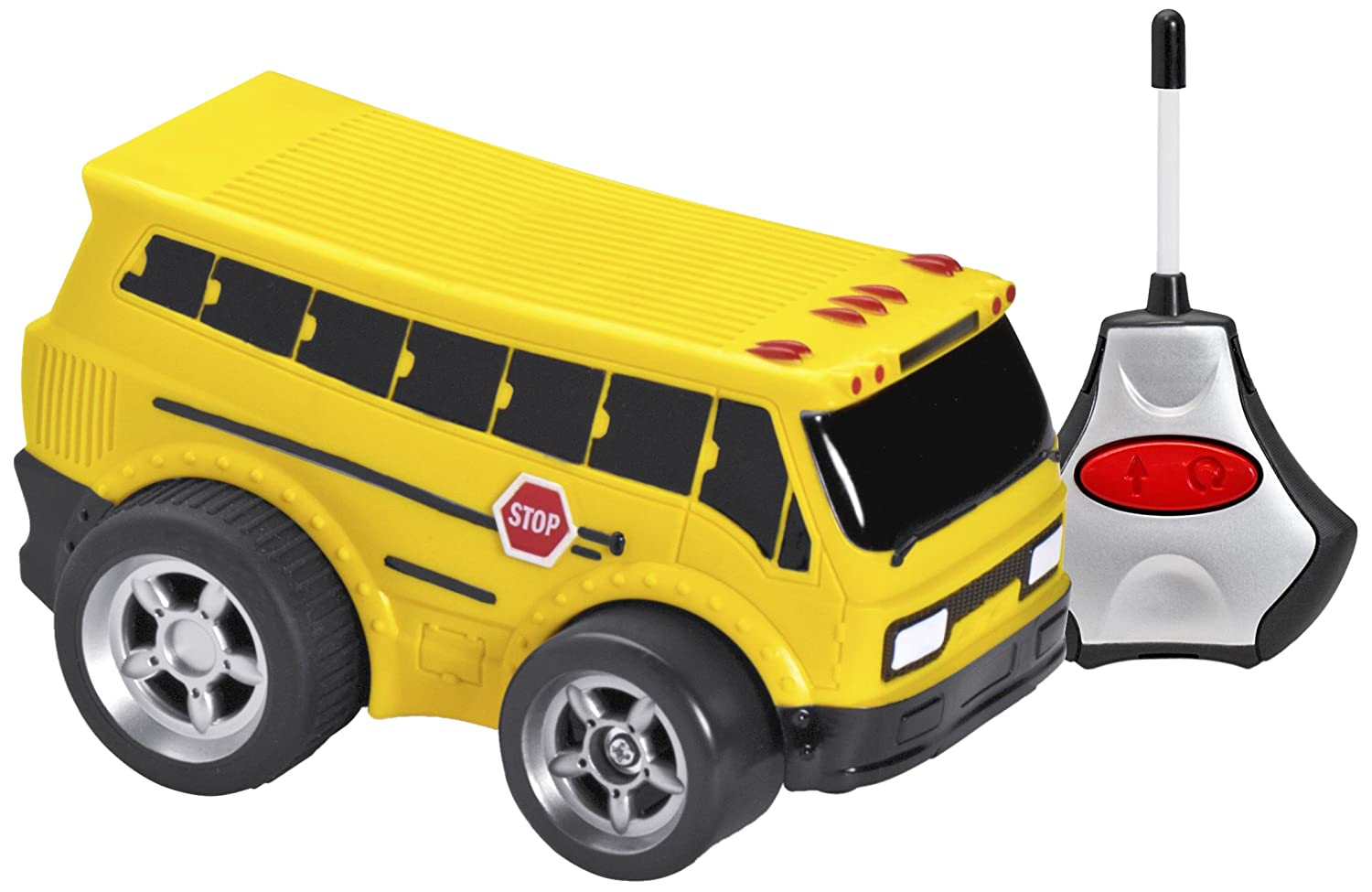Kid Galaxy Squeezable RC School Bus