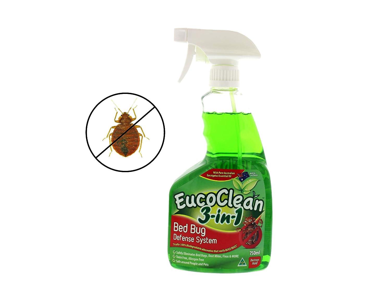 Natural eucoclean 3 en 1 Cama BUG sistema de defensa, 750 ml ...