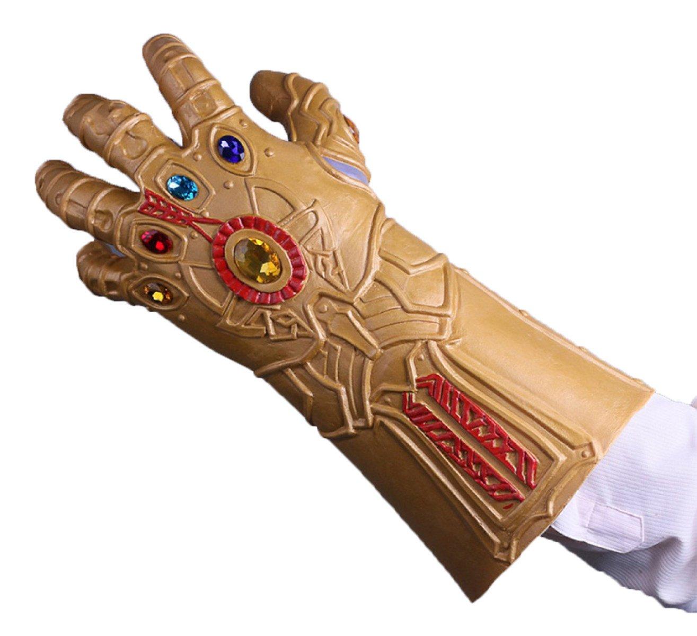 Cosplay Maske Avengers 3 Unlimited War Off Tyrannen Thanos Unlimited Handschuhe Film Und Fernsehen Spiele Requisiten,ExtinguishedBulgeUnlimitedGloves-OneGröße