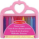 Melissa & Doug Princess Crayon Set - 12 Colours