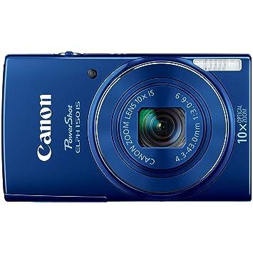 Amazon Canon PowerShot ELPH 150 IS Digital Camera Blue Photo