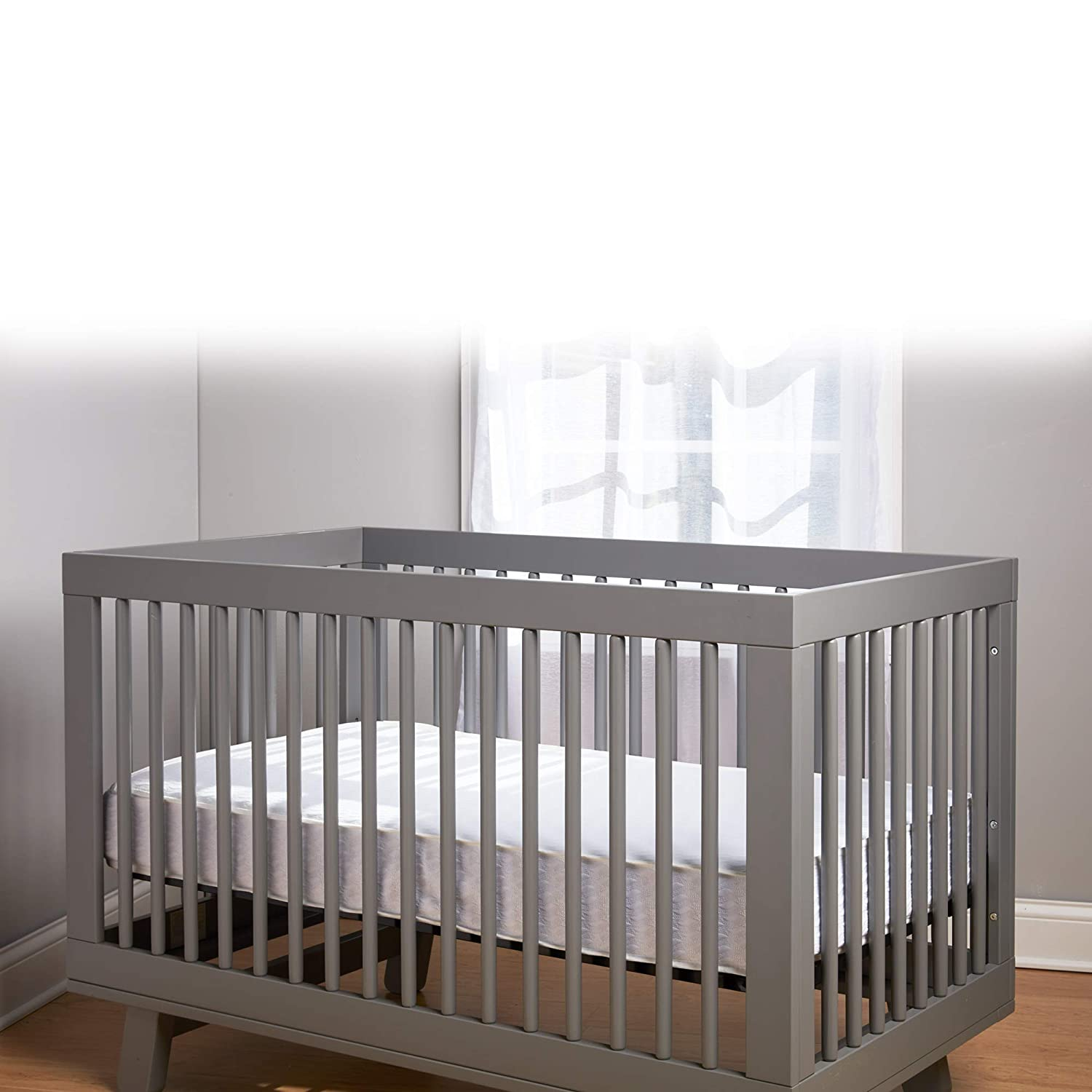 """BreathableBaby Eco Core 200 Crib Mattress for Baby No VOCs or Chemicals Water /& Stain Resistant Non-Toxic Standard 52/""""x28/"""" No Foam or Latex Lightweight"""