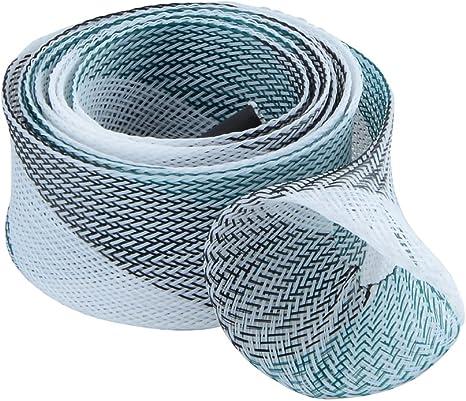 meiboall Magic vaina Casting caña de pesca trenzado manga guante Protector de pantalla para Fly mar pesca, verde-blanco: Amazon.es: Deportes y aire libre