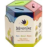 Moonjar Moneybox - Save Spend Share - Piggy Bank for Kids