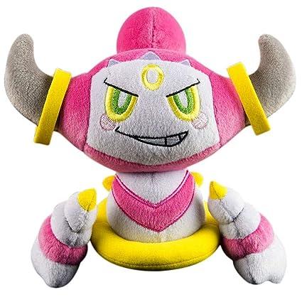 amazon com pokemon tomy plush 9 hoopa toys games