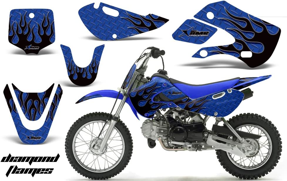 For KLX110 KX65 Plastics Fender Complete Fairing Gas Tank Seat Sticker Graphics