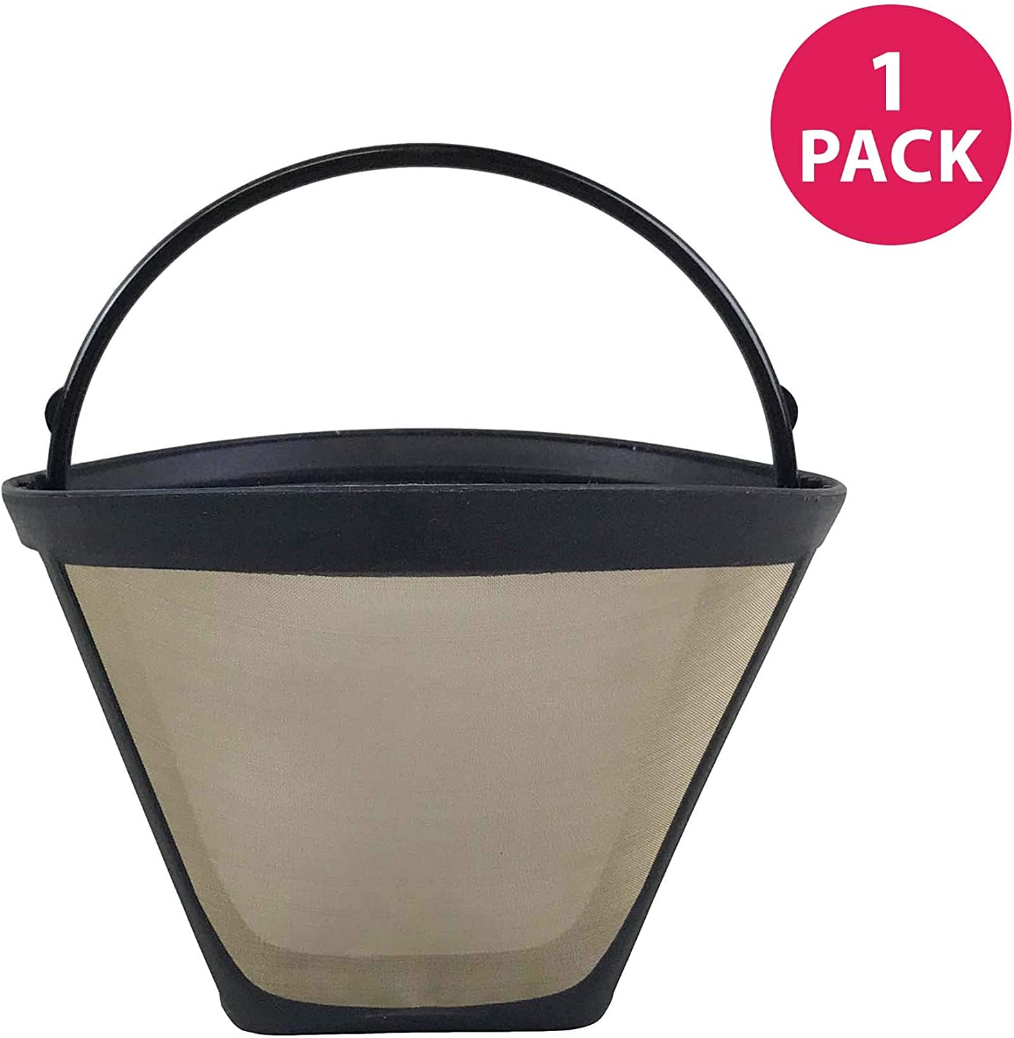 Think Crucial Replacement for Cuisinart #4 Coffee Filter Fits DTC-975BKN Thermal 12-Cup Programmable Coffee Maker, Washable & Reusable