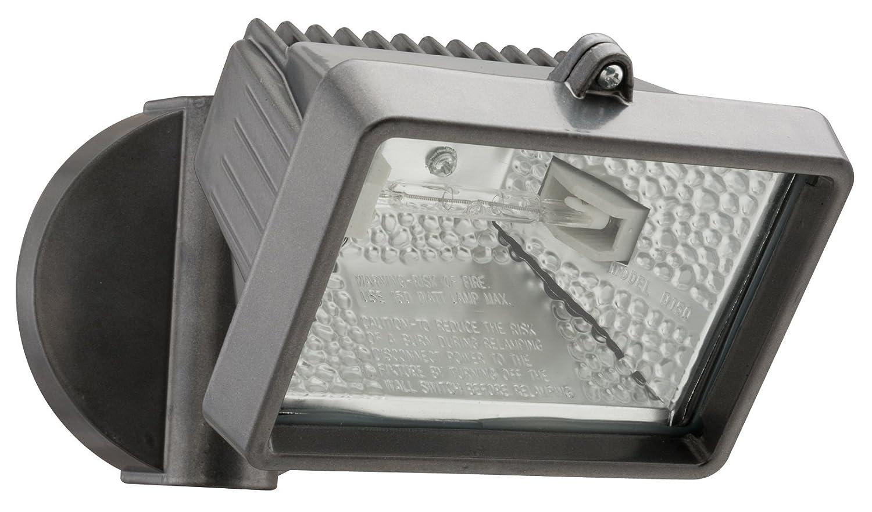 Lithonia OFLM 150Q 120 LP BZ M12 Mini Single-Head Flood Light 150-Watt Double Ended Quartz Halogen Lamp