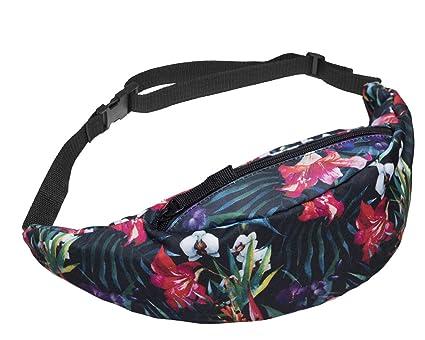 Amazon.com: UTALY Retro Flora Mujer Fanny-Pack Niñas Cintura ...