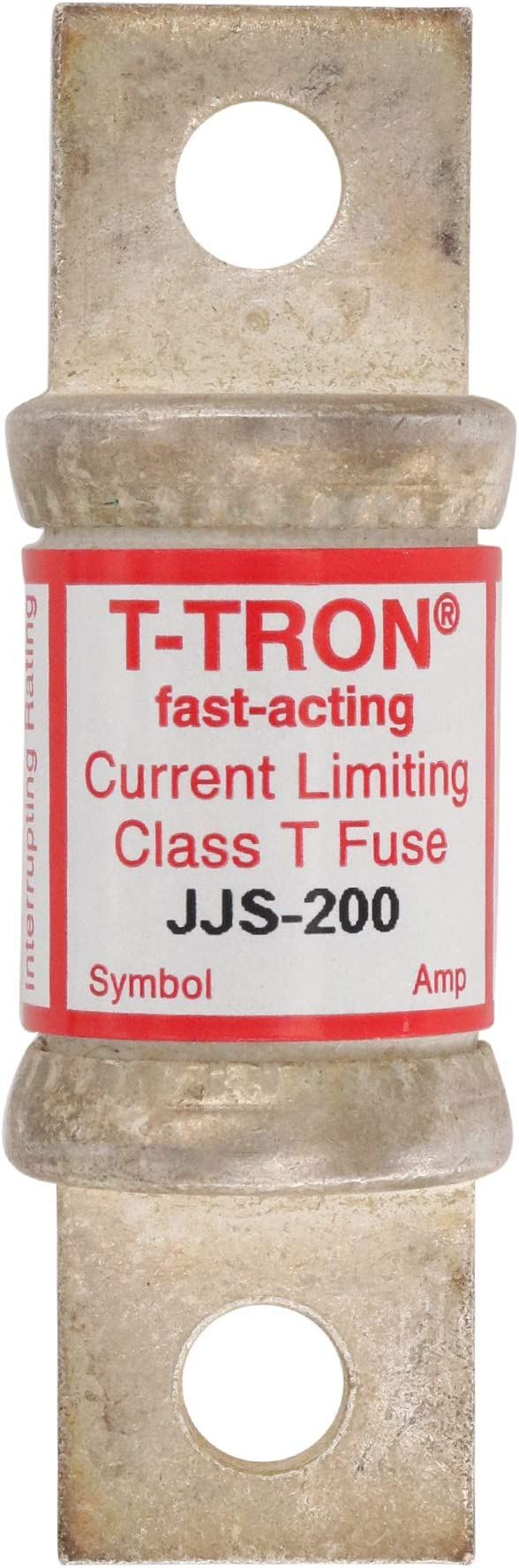 Class-T Fast Acting 200A Cooper Bussmann JJS-200 Bolt-On Fuse 600V