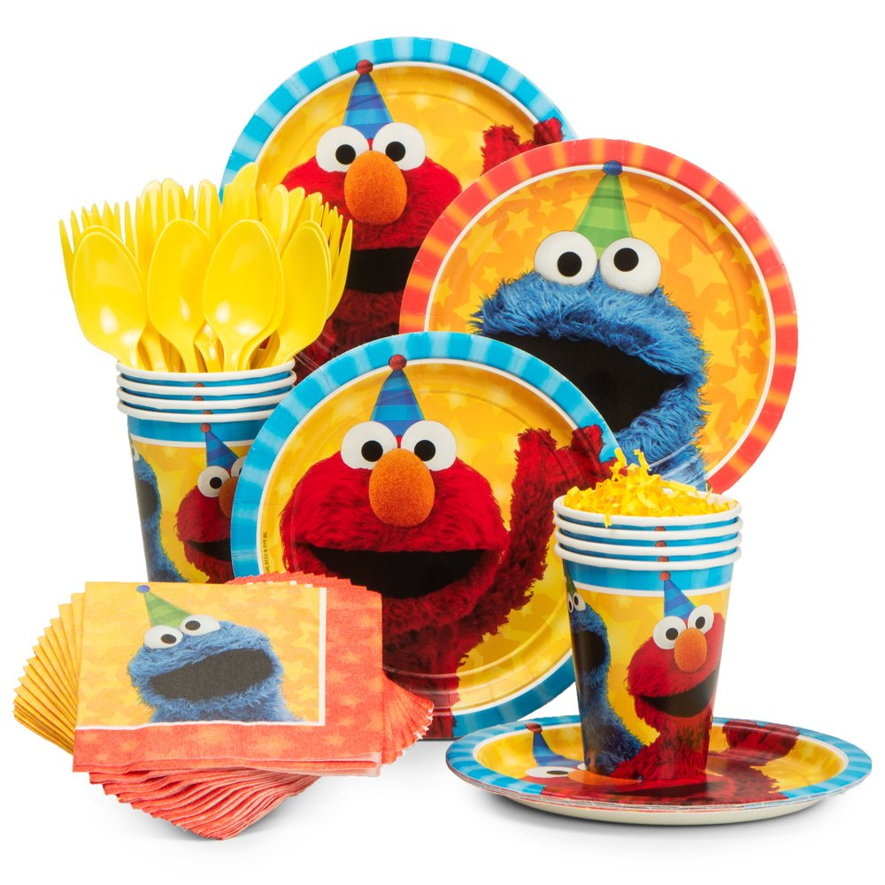 Sesame Street Party Bundles for 8 Guests