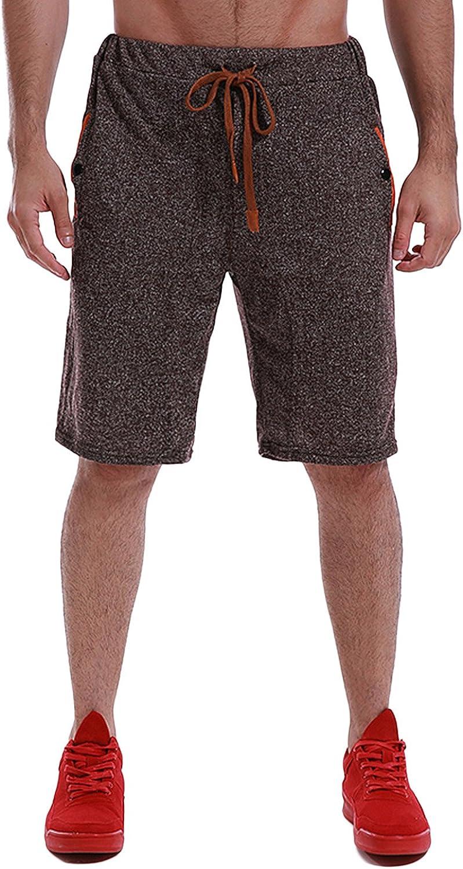 MODCHOK Men Short Pants Casual Sports Outdoor Trousers Jogger Drawstring at  Amazon Men's Clothing store