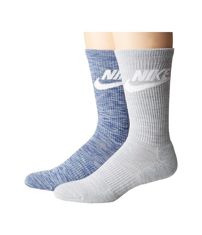 Nike Nsw Advance Crew 2pr Calcetines, Hombre: Amazon.es: Deportes y aire libre
