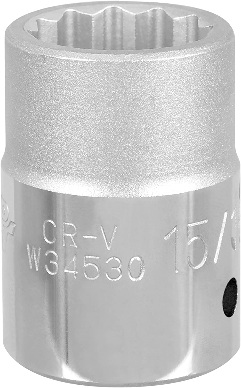 Performance Tool W34532 3//4 Drive 12-Point SAE Standard Socket 1