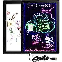 QCY Grafiktablett, 15 Inch LED Drawing Tablet Digital, Beidseitig Writing Tablet Mehrfarbig Blinkender Modus Tragbar Handschrift Board mit Magnetisch (15 Inch)